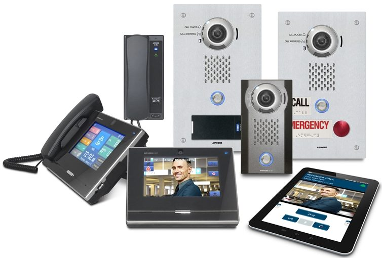 Video ip intercom systeem met app