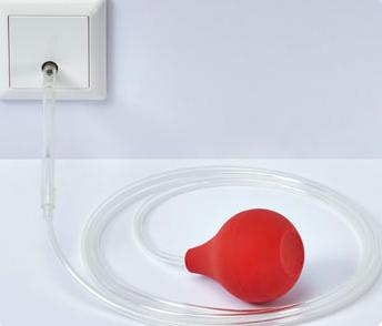 pneumatische drukknop voor badkamer, toilet of verzorgingstehuis